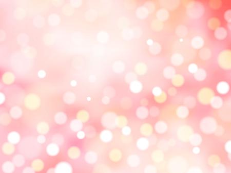 ロマンチックなきらびやかな背景デザインの抽象的な装飾的なピンぼけの壁紙を使用しているピンクのトーン