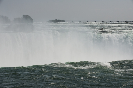 horseshoe falls: Horseshoe Falls at Niagara Stock Photo