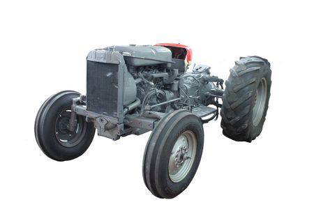 paintjob: Isolated tractor