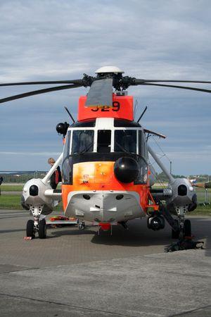 Ambulance helicopter Stock Photo - 2356342