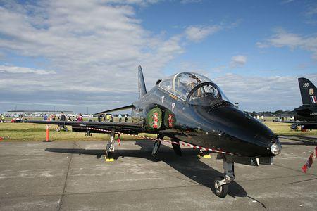 jetplane: BAE Hawk jet Archivio Fotografico