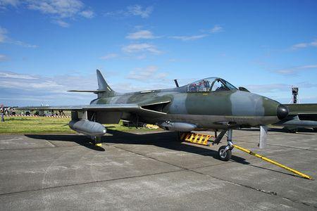afterburner: Hawker Hunter