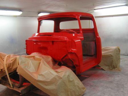 Newly repainted truck photo