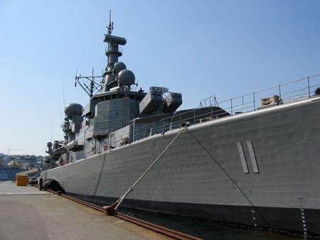 a battleship: Battleship