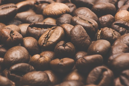 cafe colombiano: roasted coffee beans, before preparing colambian coffe