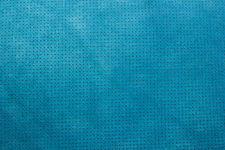 perforated: Blue velvet perforated leather texture background Stock Photo