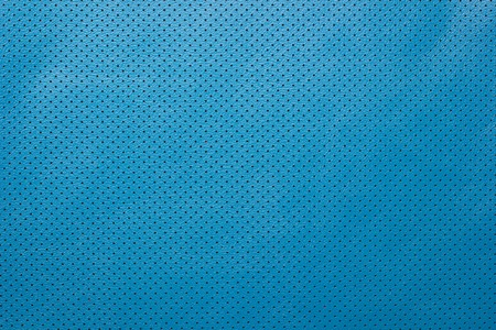 perforated: Blue perforated leather background