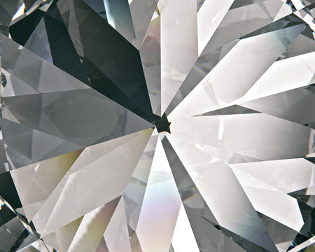 layered triangular macro diamond shapes with a small diamond over them Banco de Imagens