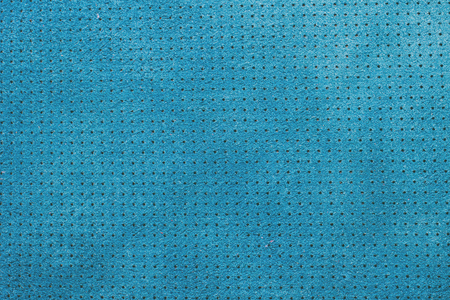 composit: Blue velvet perforated leather texture background Stock Photo