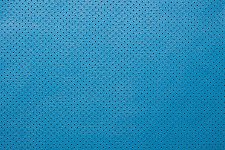 composit: Blue perforated leather texture background skin fabric