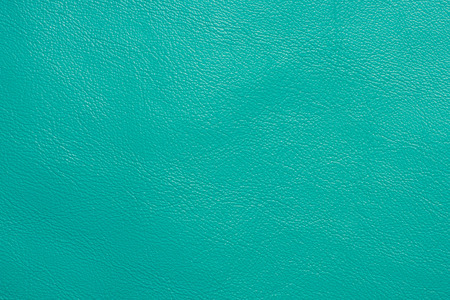 Turquoise colored leather texture background skin fabric 版權商用圖片