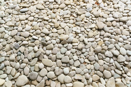 smooth stones: White smooth stones  shot from above for Background. Stock Photo