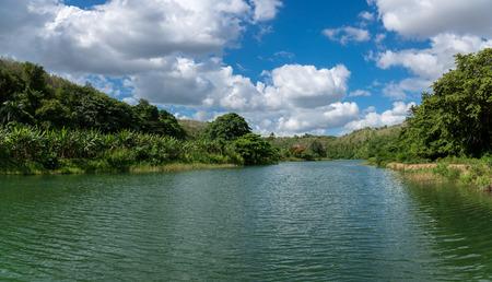 dominican: Boatage at Chavon River - Dominican Republic - Caribbean