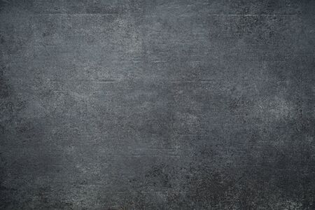 Black wall texture rough background, dark concrete floor or old grunge background Stock Photo
