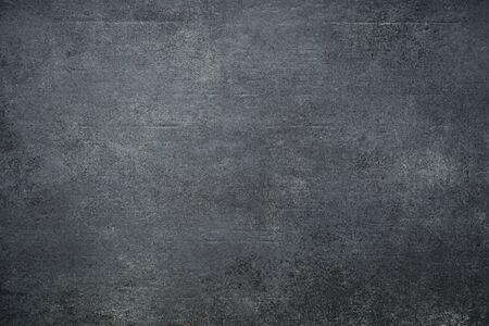 Black wall texture rough background, dark concrete floor or old grunge background Imagens