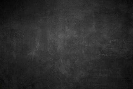 Close Up of a Black Slate Texture Background - Stone - Grunge Texture Imagens