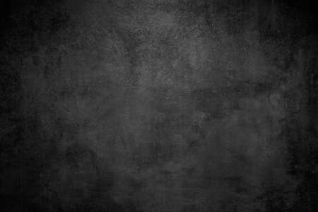 Rough Black wall slate texture rough background, dark concrete floor or old grunge background Stock Photo