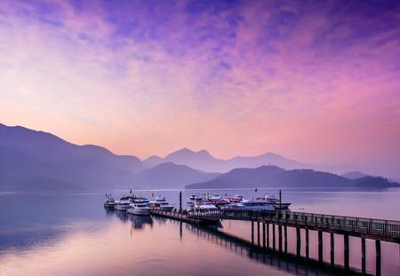 sol y luna: Sun Moon Lake, Nantou, Taiwán