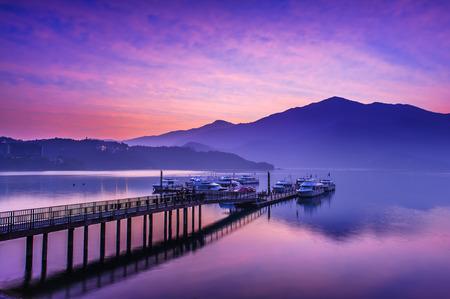 sol luna: Sun Moon Lake, Nantou, Taiw�n