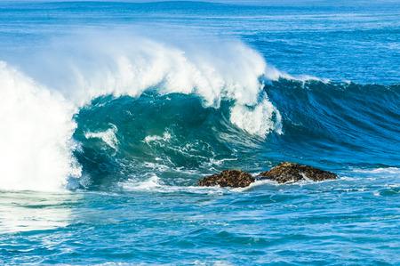 shorebreak: Blue Ocean Wave