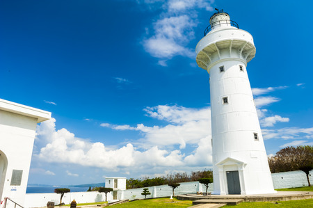 kenting: lighthouse in Taiwan named eluanbi