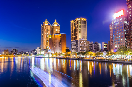 Night view of Kaohsiung