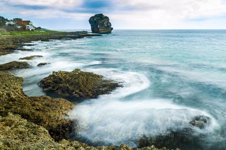 Côte Rocheuse long de l'océan Pacifique, Kenting, Taiwan