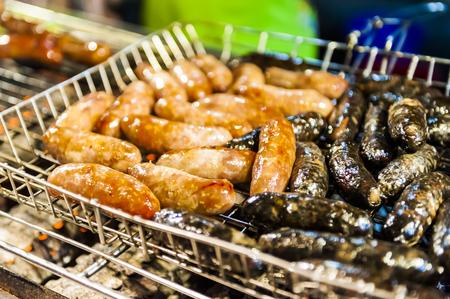 kenting: Vendor prepares food at the Kenting main street night market located in Pingtung County.