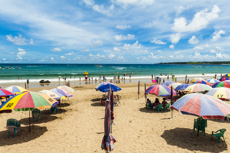 landscape of xiaowan beach at kenting, taiwan Stock Photo