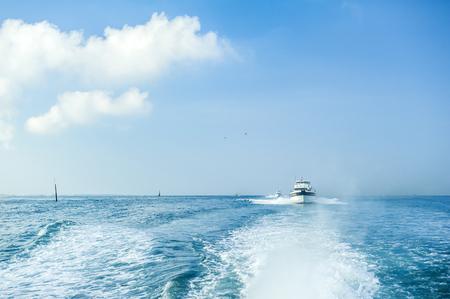 Boat in Penghu Stock Photo