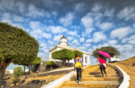 Beautiful landscape at Cijin District of Kaohsiung, Taiwan Editorial