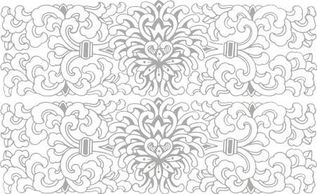 contracted: Decorative pattern