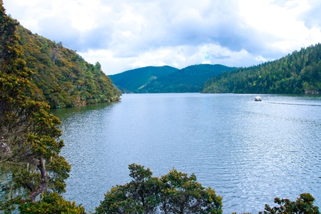 Pudacuo national park . Taken in the Shangri-La Yunnan China Stock Photo - 11201623