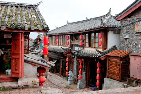 minor�a: Lijiang antigua ciudad, China Editorial