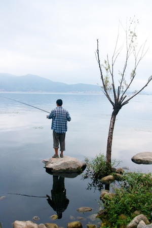 Erhai Lake. Taken in the Dali Yunnan China