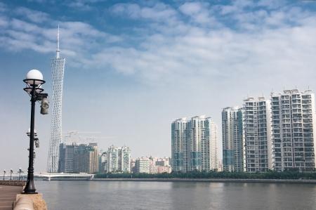 Modern Chinese residential,Guangzhou China Stock Photo - 13627564
