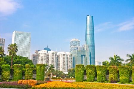 modern Guangzhou,Guangzhou China Stock Photo - 13627429