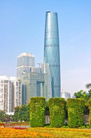 modern Guangzhou,Guangzhou China Stock Photo - 13627421