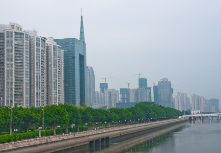 modern Guangzhou,Guangzhou China Stock Photo - 13627409