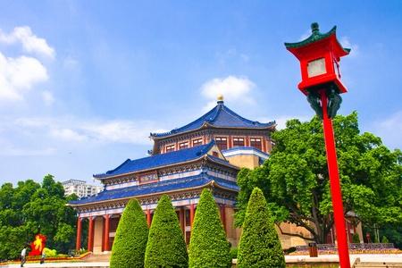 Sun Yat-sen Memorial Hall in Guangzhou, China photo
