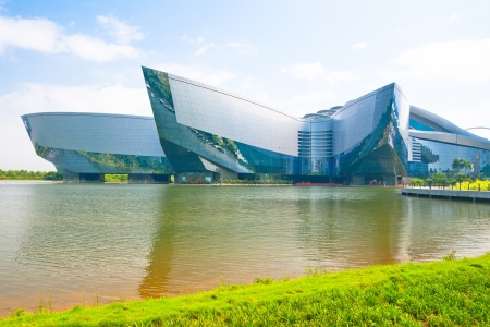 guangdong: Guangdong Science Center, This is Asia s largest base for science education, International science and technology exchange platform,Guangzhou China Editorial