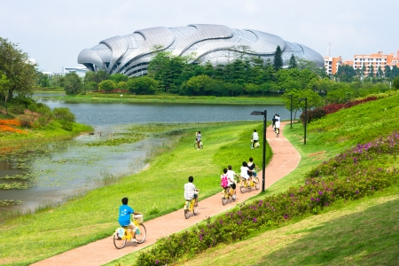 Guangzhou Velodrome,This is a Competition venue for the 16th Asian Games sport  Cycling,2010 16th Asian Games held in Guangzhou China