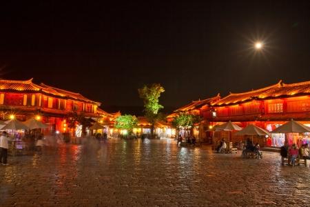 The Old Town of Lijiang in China, Lijiang Zdjęcie Seryjne
