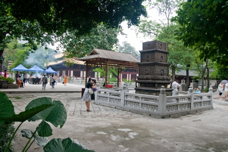 Guangxiao Temple,This is the biggest and oldest Buddhist temple in Guangzhou,a history of more than 1700 years