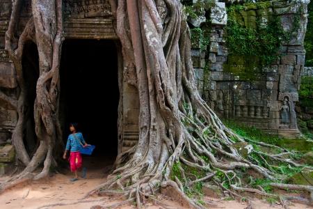 Ta Som,siem reap ,Cambodia