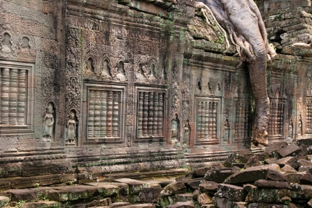 khan: Preah Khan,siem reap ,Cambodia