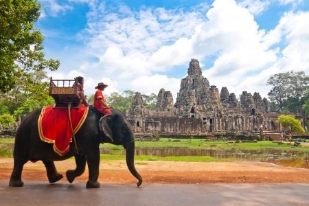 angkor wat: bayon,siem reap ,Cambodia
