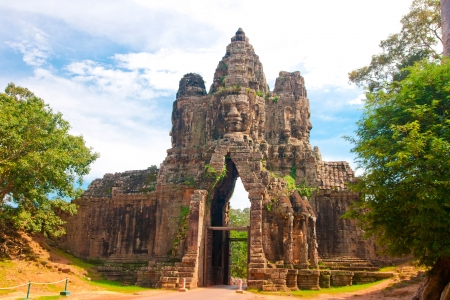 bayon,siem reap ,Cambodia