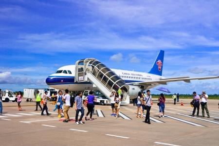 reps: China Southern Company Limited L�neas A�reas Aviones en el aeropuerto de REP