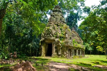 khan: Preah Khan siem reap ,Cambodia